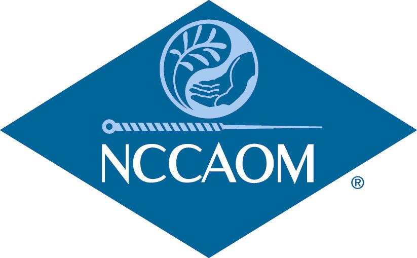Licensed Acupuncturist USA | NCCAOM Logo from MSFocus
