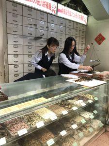Chinese pharmacy in Hong Kong