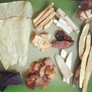 Raw Herbs from Hong Kong